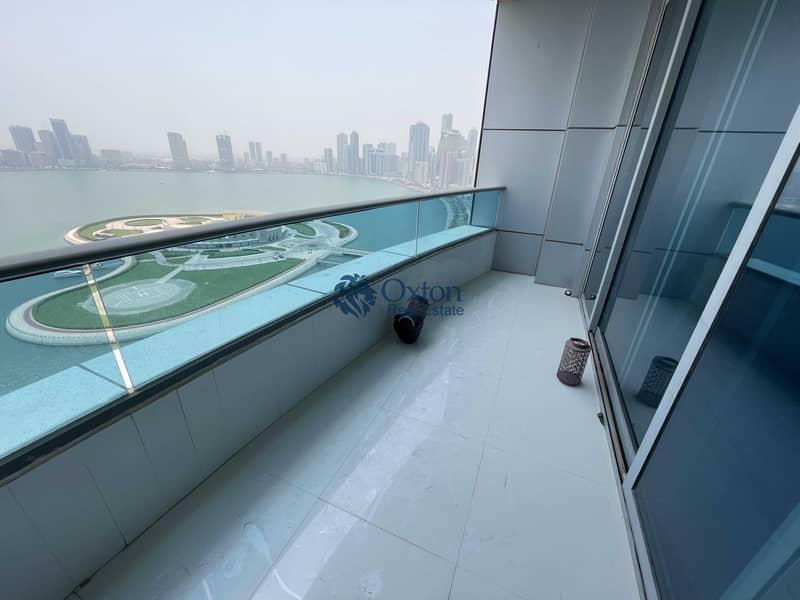 2 Luxury Sea View 4-BHK Balcony | Wardrobe GYM+Pool & Parking FREE