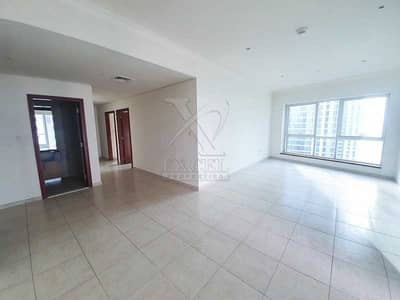 3 Bedroom Apartment for Rent in Dubai Marina, Dubai - 3 Months Free   Sea View    Chiller and Gas Free   Big Terrace