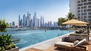 شقة في بالاس بيتش ريزيدنس إعمار الواجهة المائية دبي هاربور 1 غرف 1770888 درهم - 5128149