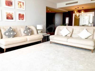 2 Bedroom Flat for Sale in Downtown Dubai, Dubai - Resale | Fully Furnished | Full Downtown and Sea Views