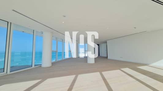 شقة 4 غرف نوم للايجار في جزيرة السعديات، أبوظبي - شقة حديثة وفاخرة مع إطلالة بحرية رائعة