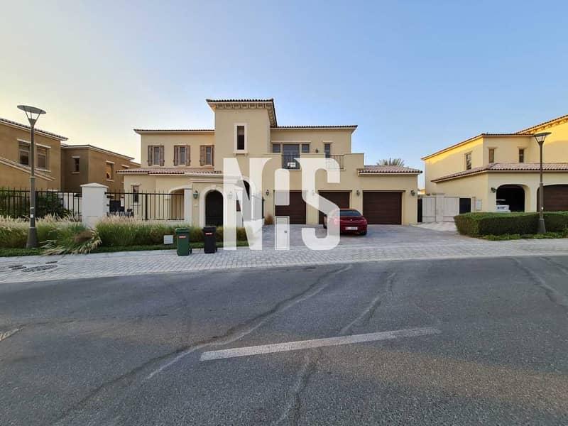 25 Modified 6 Bedroom Executive Villa in alSaadiyat Beach villas Never Used Before