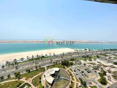 2 Bedroom Flat for Rent in Corniche Area, Abu Dhabi - Magnificent *Full Sea View* 2 Bedroom with Gym Facilities Plus Parking