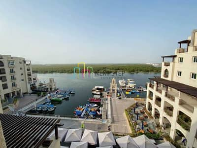 1 Bedroom Flat for Rent in Al Zahraa, Abu Dhabi - No Commission* Furnished 1 BR with Full Mangrove View