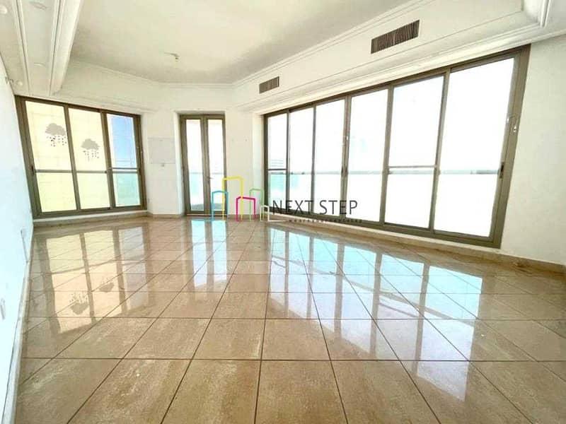 Extraordinary Three Bedroom Apartment in Corniche Area