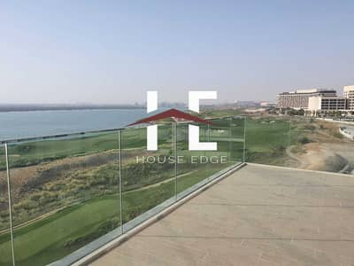 فلیٹ 3 غرف نوم للايجار في جزيرة ياس، أبوظبي - Brand New Apartment |  Balcony| Corner Unit | Sea View | Golf View | Fantastic Layout |