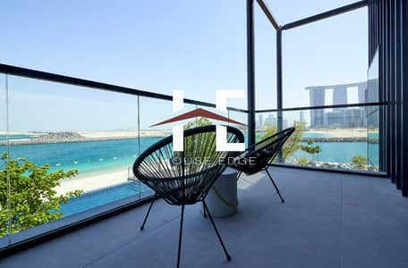 2 Bedroom Apartment for Sale in Al Reem Island, Abu Dhabi - Exceptional 1 BHK with Private Beachfront Access.