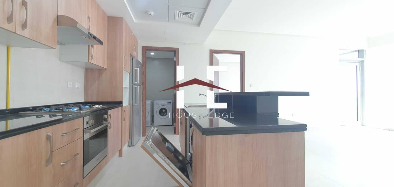 Brand New Apartment with Built-in Appliances   Laundry room  Balcony