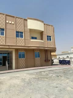 A new building in Al Mowaihat for annual rent with one-room apartments, a hall and studios