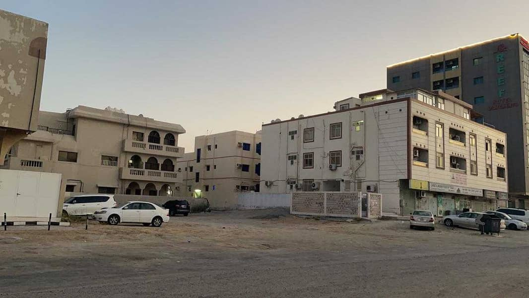 For sale a plot of land in Ajman in the Al Nuaimiya area at a price of a shot and a very special location for the construction of a residential and co