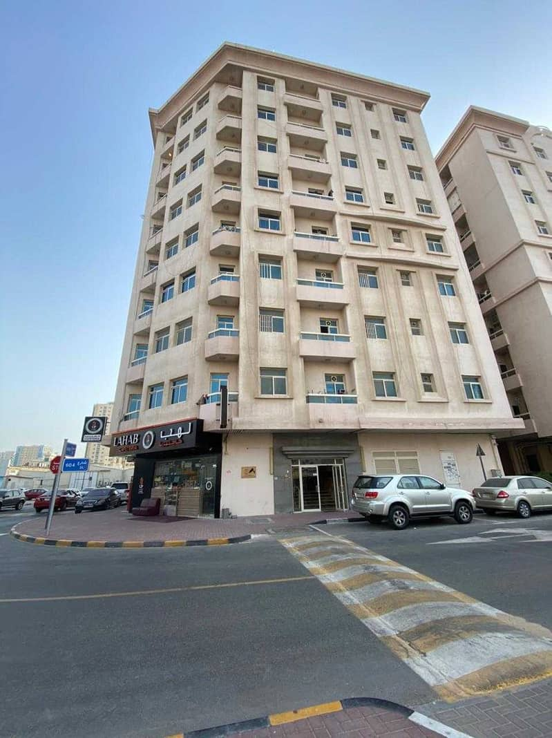Available for annual rent in Ajman, Al Nuaimiya area, 1 room, a hall, two rooms and a hall