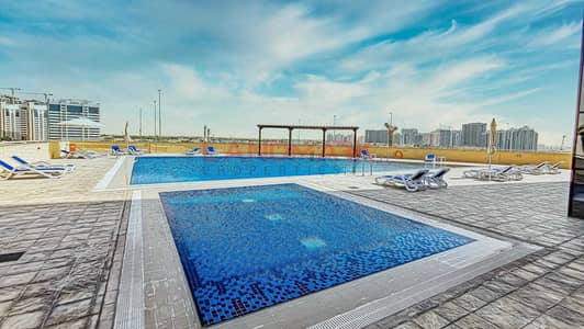 2 Bedroom Apartment for Sale in Jumeirah Village Circle (JVC), Dubai - Modern 1BR | Luxury tower | Balcony | City View | Covered Parking
