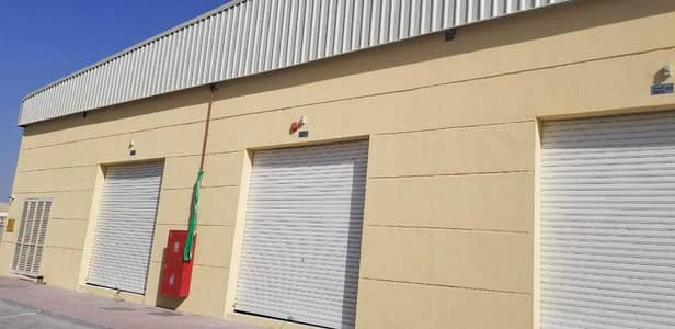 Warehouse for Rent in Al Jurf, Ajman - New warehouses equipped with a mezzanine and bathroom, suitable for all activities