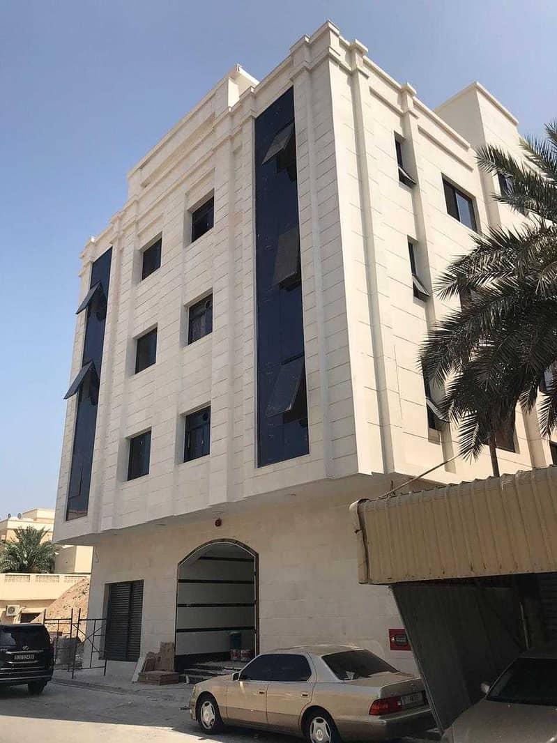 شقة غرفة وصالة  بناية جديدة