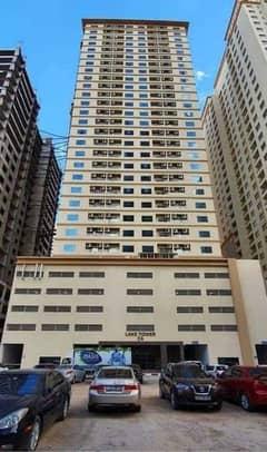 شقة في برج لافندر مدينة الإمارات 1 غرف 17000 درهم - 4815389