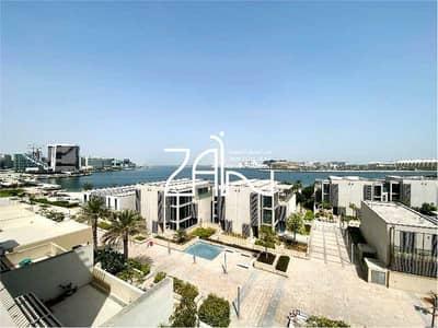 فیلا 6 غرف نوم للبيع في شاطئ الراحة، أبوظبي - Sea View Podium Villa with Pool Owner Occupied
