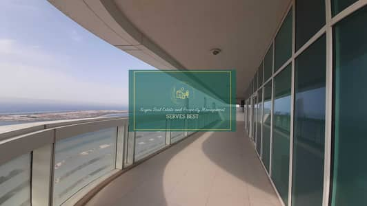 3 Bedroom Flat for Rent in Al Khalidiyah, Abu Dhabi - No Commission! Dream Terrace! 3 Beds in Al Ain Tower
