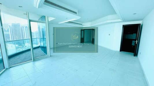 3 Bedroom Flat for Rent in Corniche Road, Abu Dhabi - Magnificent Residence in Sea View! 3BR+Maids Room I Balcony