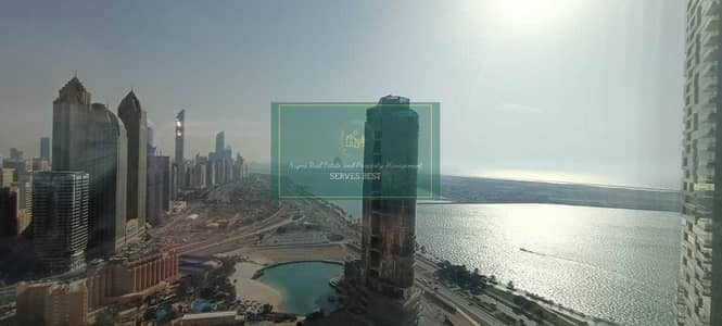 فلیٹ 2 غرفة نوم للايجار في منطقة الكورنيش، أبوظبي - شقة في برج الجوهرة منطقة الكورنيش 2 غرف 145000 درهم - 5134393