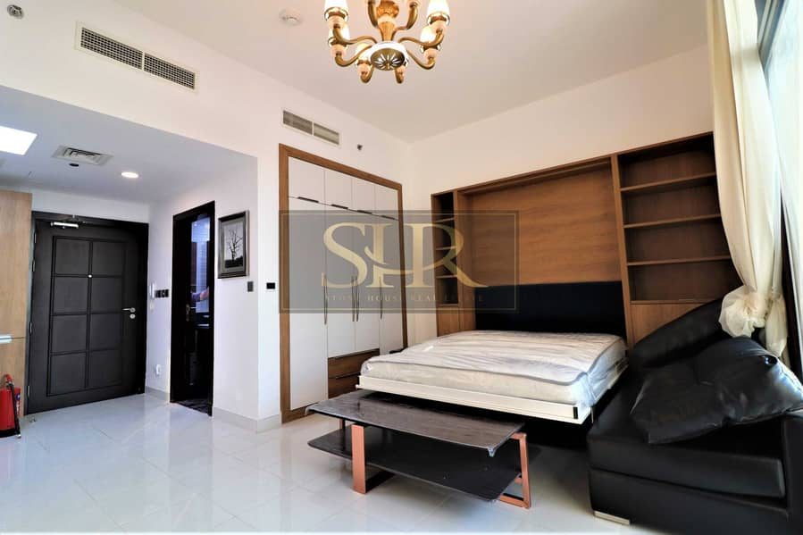4-6 Cheques   Fully Furnished Studio in Al Furjan
