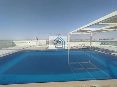 فلیٹ 1 غرفة نوم للايجار في شاطئ الراحة، أبوظبي - Brand new building very nice big 1 bedroom with big balcony al raha beach
