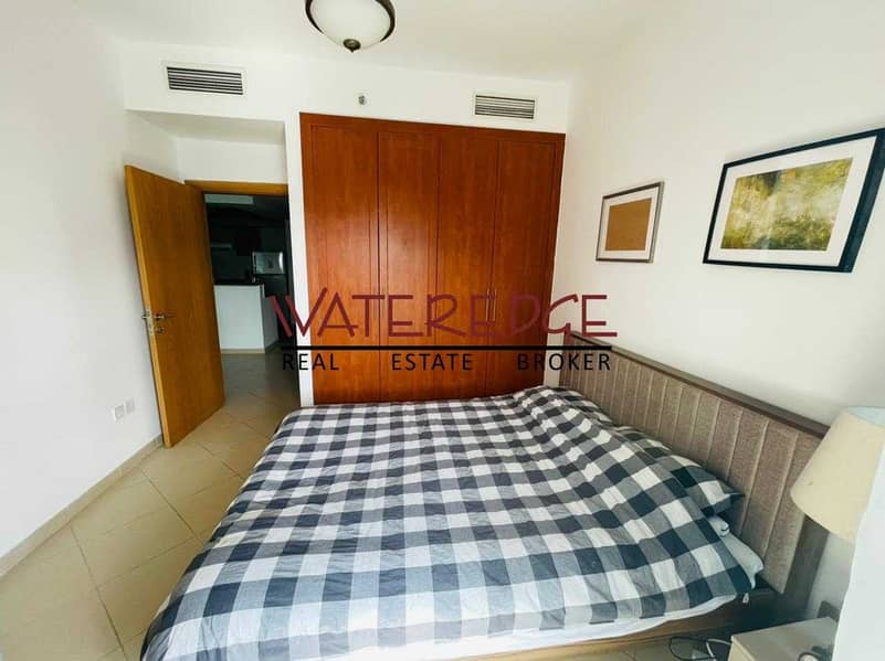 10 Furnished I L Studio converted to 1BR I Pool View
