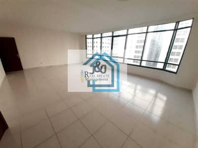 فلیٹ 3 غرف نوم للايجار في الخالدية، أبوظبي - |NO COMMISSION|Amazing 3 bhk apartment @ khalidiya