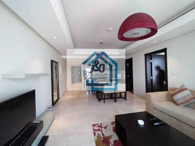 فلیٹ 1 غرفة نوم للايجار في منطقة الكورنيش، أبوظبي - Stylish 1 Bedroom Fully Furnished Apartment in Cornicha Area