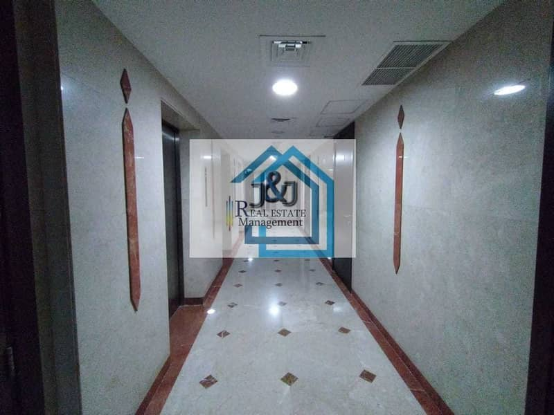 22 Spacious 2 Bedroom Apartment with Maids room and Balcony at very prime location of Danet Abu Dhabi