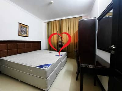 1 Bedroom Apartment for Rent in Tourist Club Area (TCA), Abu Dhabi - SPACIOUS SEMI FURNISHED 1 BHK APPARTMENT AT TOURIST CLUB AREA.