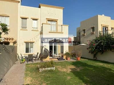 فیلا 2 غرفة نوم للايجار في الينابيع، دبي - Type 4E| 2 Bed + Study| Back to Back| V Clean