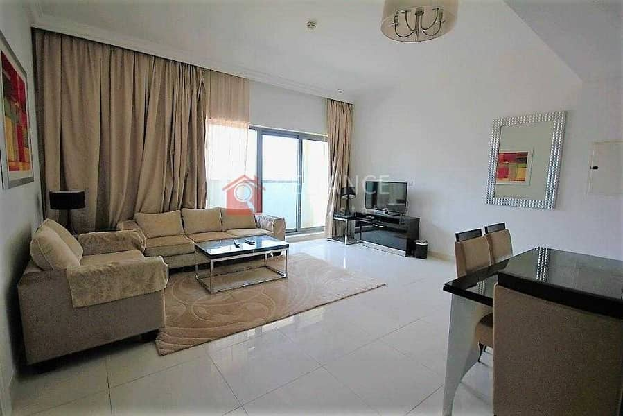 2 Luxurious Furnished 1 Bedroom 1.5 Bath - Pool View