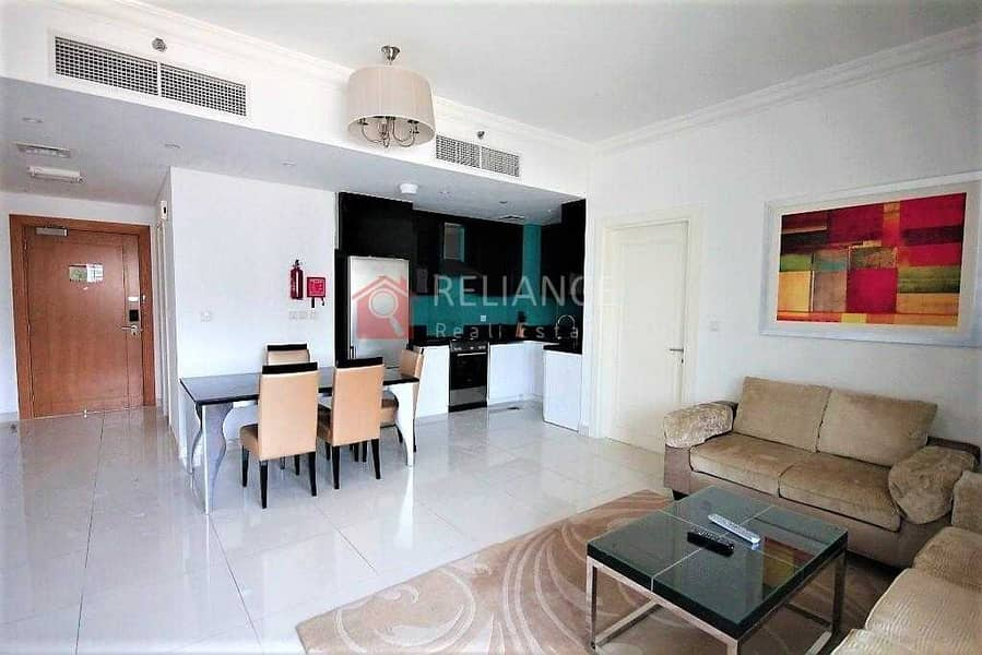 Luxurious Furnished 1 Bedroom 1.5 Bath - Pool View