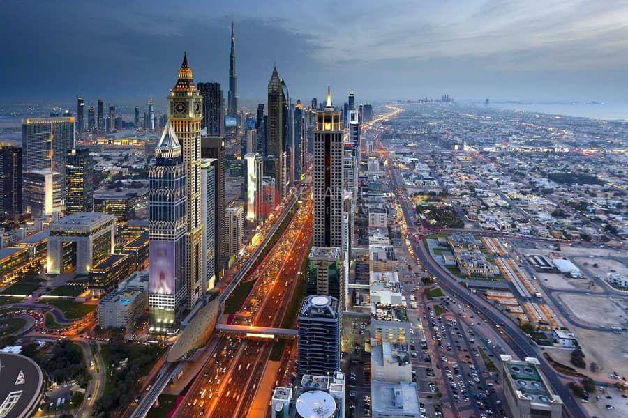 13 Serviced Apartment   Along Sheikh Zayed   Near to Metro