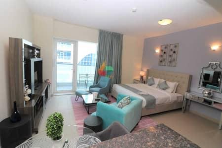 Studio for Rent in Dubai Sports City, Dubai - Charm Studio Apartment in Cricket Tower- Sports City