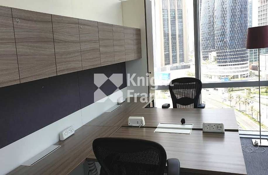 2 Grade A Tower | CAT A Fitted | Fully Furnished