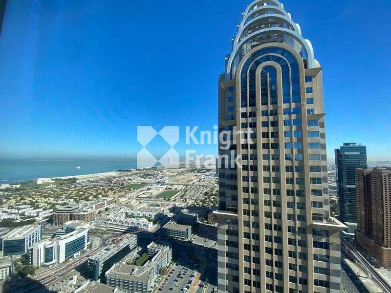 25 Fitted | Sea & SZR View | Freezone Licensed