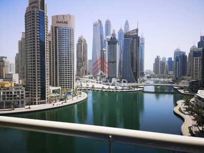 1 Bedroom Flat for Rent in Dubai Marina, Dubai - Full Marina view – Furnished – Vacant soon