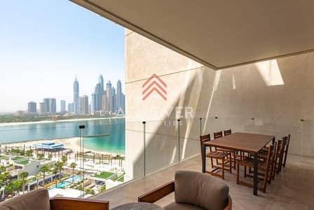 فلیٹ 3 غرف نوم للبيع في نخلة جميرا، دبي - Stunning 3BR | Sea View | Fully Furnished