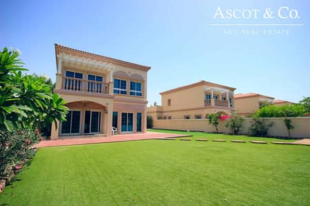 3 Bedroom Villa for Sale in Jumeirah Village Triangle (JVT), Dubai - District 9 | Vacant in July | 3 Bedrooms