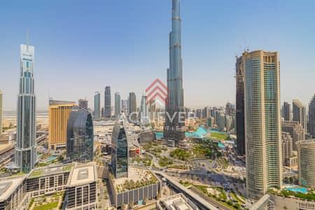 شقة 2 غرفة نوم للبيع في وسط مدينة دبي، دبي - 03 Series   High Floor   Burj & Fountain View  T2