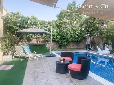 فیلا 3 غرف نوم للايجار في جميرا بارك، دبي - Immaculate |  Pool |  Available 1st July