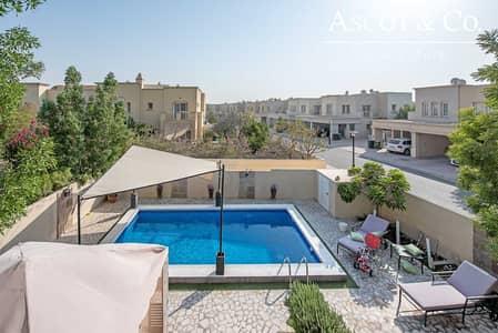 فیلا 3 غرف نوم للايجار في الينابيع، دبي - Upgraded 3E   Corner Plot   Private Pool