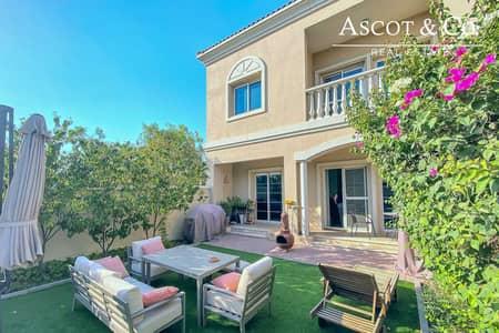 تاون هاوس 2 غرفة نوم للبيع في مثلث قرية الجميرا (JVT)، دبي - EXCLUSIVE | CORNER | ON THE PARK | VASTU