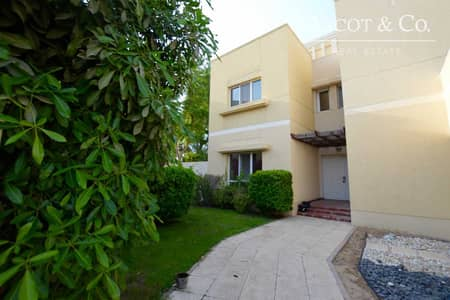 4 Bedroom Villa for Rent in The Meadows, Dubai - Skyline View | Large Plot | Single Row |