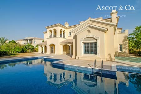 6 Bedroom Villa for Rent in Arabian Ranches, Dubai - Stunning 6 Bedroom Villa Field View Pool
