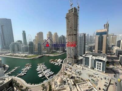 شقة 3 غرف نوم للايجار في دبي مارينا، دبي - Price Reducedd!!| Spacious 3BHK| Marina View|Higher Floor|Chiller Free