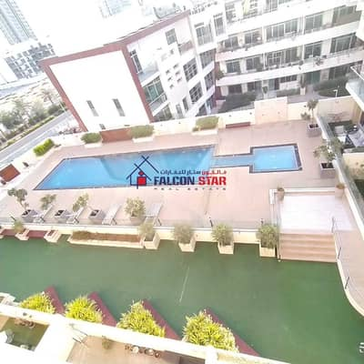 Studio for Sale in Jumeirah Village Circle (JVC), Dubai - GET THE BEST RETURN OF INVESTMENT - POOL VIEW STUDIO RENTED IN 36