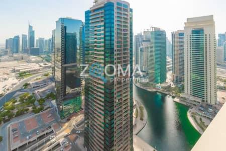 فلیٹ 1 غرفة نوم للبيع في أبراج بحيرات الجميرا، دبي - High Floor 1Br   Lake View   Tenanted