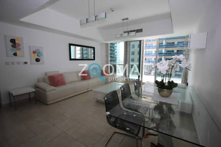 شقة 2 غرفة نوم للايجار في دبي مارينا، دبي - Fully Furnished   Available   Marina View